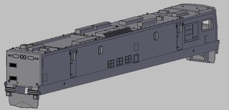 160) QRN 3800 class loco